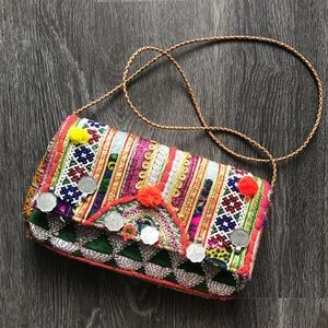 Handbags - Colorful Purse from India